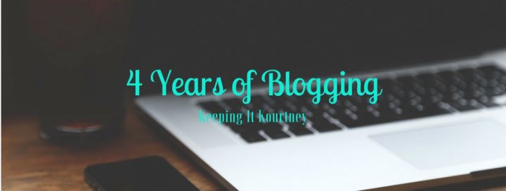 4th Anniversary of Blogging