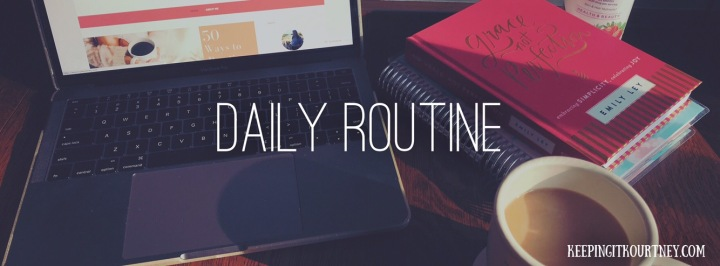 5 Improvements I'm Making on my Daily Routine